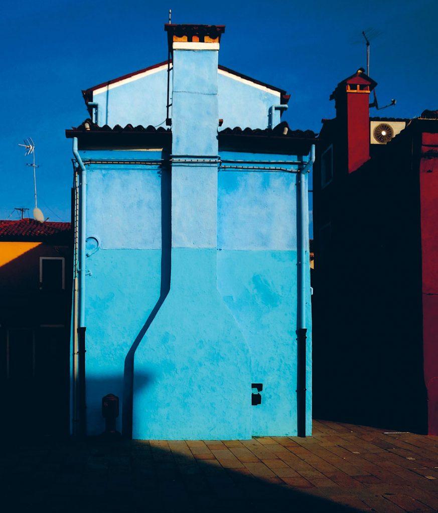 Farbige Häuserwände auf Burano